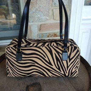 Kate Spade tiger stripe shoulder bag
